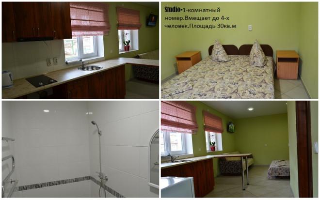 4-комнат. отель в Бердянске, Курортная 37а